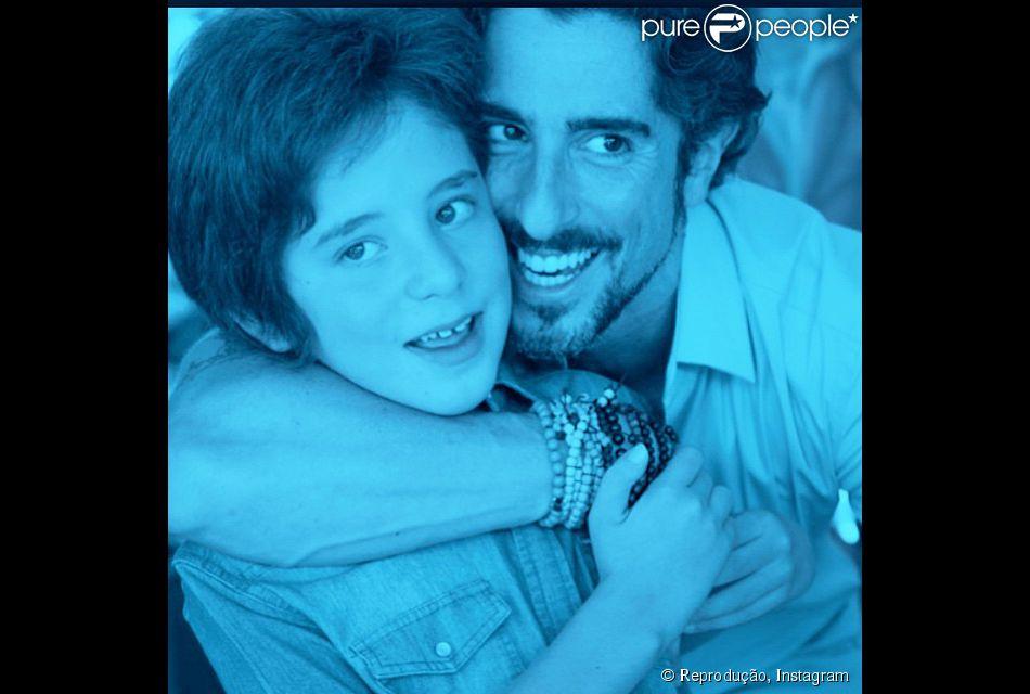 Marcos Mion contou que filho mais velho sofreu preconceito em aeroporto do Rio de Janeiro