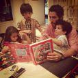 Marcos Mion também é pai de Donatella e Stefano, frutos do casamento com Suzana Gullo