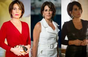 Gloria Pires dita moda com vilã da novela 'Babilônia'. Saiba tudo sobre os looks