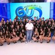 Gugu Liberato agradeceu à equipe que o ajudou nos anos de emissora e fez questão de mostra-los aos telespectadores