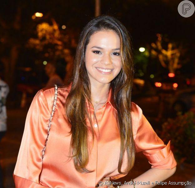 Bruna Marquezine nega romance com rapper Diego Villanueva, do grupo 'Bonde da Stronda', em 5 de dezembro de 2012