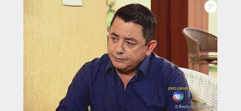 João Reis, pai de Cristiano Araújo, deu uma entrevista emocionada ao programa 'Hora do Faro', da Record, que foi ao ar no domingo, 5 de julho de 2015