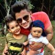 Cristiano Araújo deixou dois filhos, João Gabriel, de 6 anos, e Bernardo, de 2