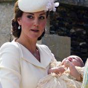 Kate Middleton usa joias no valor de R$ 11 mil no batizado da princesa Charlotte