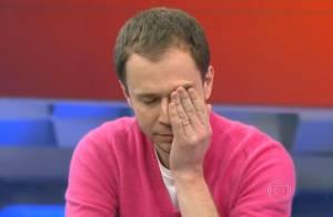 Tiago Leifert chora ao se despedir do 'Globo Esporte': 'Obrigado'