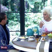 Usando pijama, Ana Maria Braga entrevista Eri Johnson no 'Mais Você'