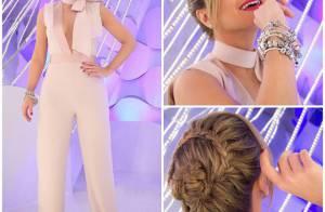Eliana brilha com looks cheios de estilo na TV. Confira grifes e peças!