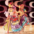 Claudia Raia e Elba Ramalho dividiram o palco no  programa   'Não Fuja da Raia'  (1996)