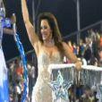 Claudia Raia foi um dos destaques do Carnaval 2012 da Vai Vai