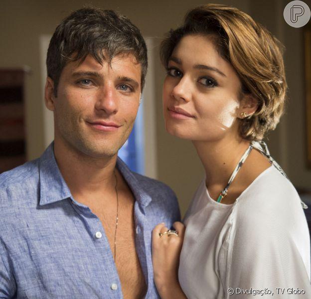 Na novela 'Babilônia', Murilo (Bruno Gagliasso) vai dizer para Alice (Sophie Charlotte) que Vinícios (Thiago Fragoso) foi o responsável pela morte do pai deles