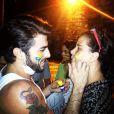 Narcisa Tamborindeguy pistou o rosto para participar do prostesto: 'vamos às ruas'