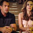 Paloma (Paolla Oliveira) conta para Bruno (Malvino Salvador) que é mãe de Paulinha (Klara Castanho) e termina o noivado com ele, em 'Amor à Vida'