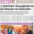 As informações são do colunista Leo Dias, do jornal 'O Dia'