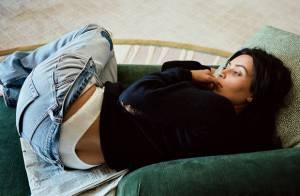 Kim Kardashian posa sem maquiagem e com bumbum à mostra: 'Sem filtro'