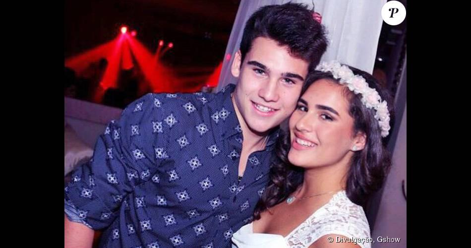 Nicolas Prattes começa a gravar nova temporada de 'Malhação' e vibra por dividir o trabalho com a namorada, Lívian Aragão: 'Ajuda no relacionamento'