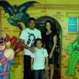 Ronaldo comemora o aniversário de 8 anos do filho Alex com festa temática sobre super-heróis