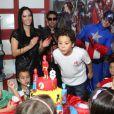Alex, filho de Ronaldo, comemora o aniversário de 8 anos em 27 de junho de 2013