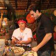 Joquim Lopes conferiu o que era feito na feira de Parintins, Manaus
