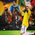 Bruna Marquezine publicou imagem do namorado, Neymar, na final da Copa das Confederações