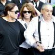 Susana Vieira, Renata Sorrah, ex-mulher de Marcos Paulo, e Vicente Sesso, pai de criação do diretor