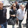 Stênio Garcia e a mulher, Marilene Saade compareceram ao velório de Marcos Paulo