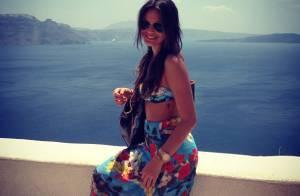 Bruna Marquezine exibe novas tatuagens em foto durante viagem pela Grécia
