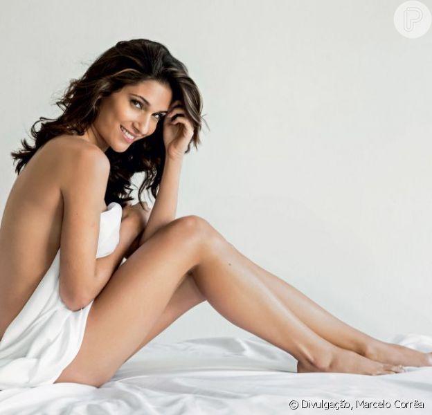 Carol Magno está sensual em fotos para a revista 'Men´s Health' do mês de agosto