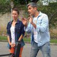 Otaviano Costa apareceu como repórter do 'Vídeo Show' pela primeira vez no programa desta quarta-feira, 31 de julho de 2013