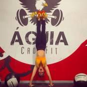 3 minutos com Monique Alfradique: conheça o treino de crossfit da atriz