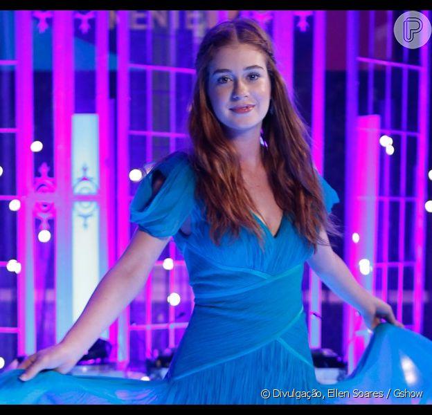 Marina Ruy Barbosa surge linda no capítulo zero da novela 'Totalmente Demais', exibido somente na web, nesta quarta-feira, em 4 de novembro de 2015
