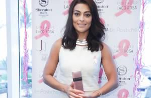 Juliana Paes doa perucas para pacientes com câncer: 'Estou tão feliz'