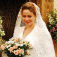 Agostina, personagem de Leandra Leal, se casou com Berilo (Bruno Gagliasso) em Passione, de 2010