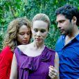 Juddi Pinheiro completa o trio na pele de Pedro, o marido de Antônia (Mariana Ximenes), em 'O Uivo da Gaita'