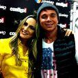 Netinho recebeu a visita de Claudia Leitte na última semana