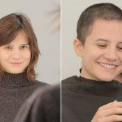 Bianca Comparato raspa o cabelo para seriado e diz: 'Foi como um renascimento'