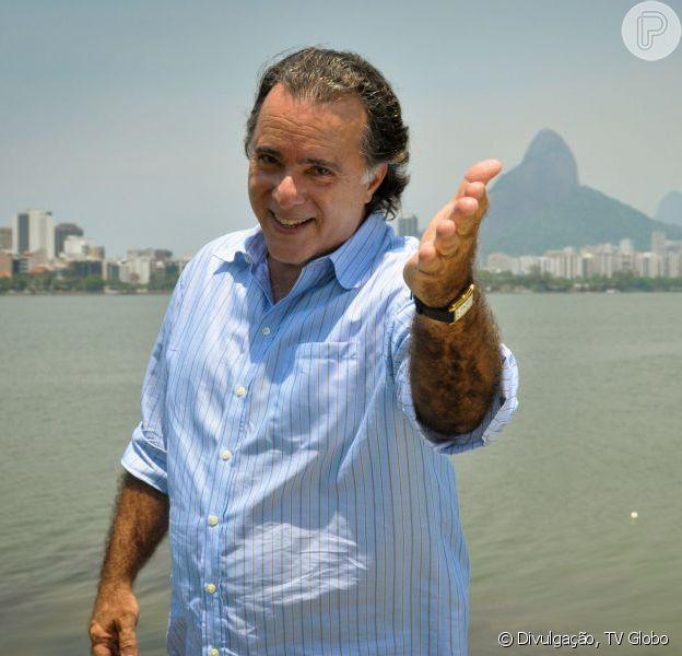 Tony Ramos completa 65 anos neste domingo, 25 de agosto de 2013
