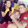 Fernanda Souza também é adepta ao muay thai