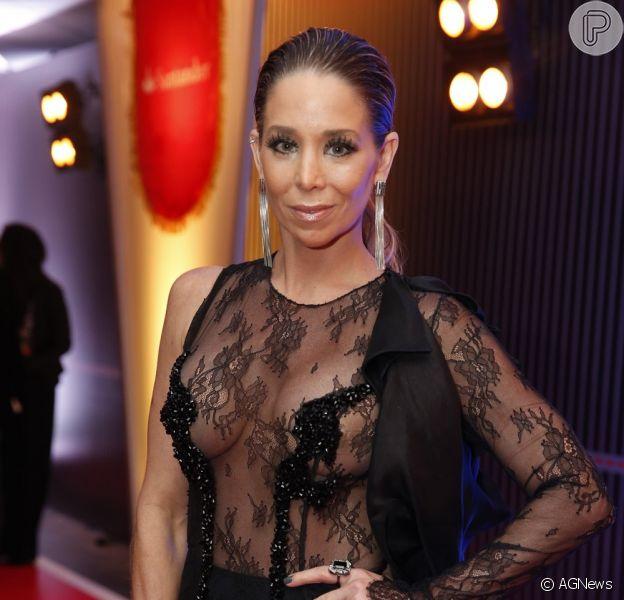 Vestido assinado pelo estilista Rodrigo Rosner que Danielle Winits usou no Prêmio Multishow custa R$ 13 mil