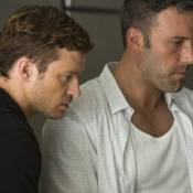 Justin Timberlake aparece em cenas de ação com Ben Affleck em 'Aposta Máxima'