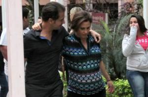 Guilhermina Guinle dá à luz sua primeira filha de parto cesariana