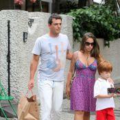 Rodrigo Lombardi e a mulher querem ter mais um filho: 'A fábrica está aberta'