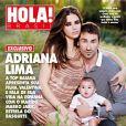 A top model, Adriana Lima é casada com o jogador de basquete, Marko Jaric. O casal tem duas filhas, Sienna e Valentina