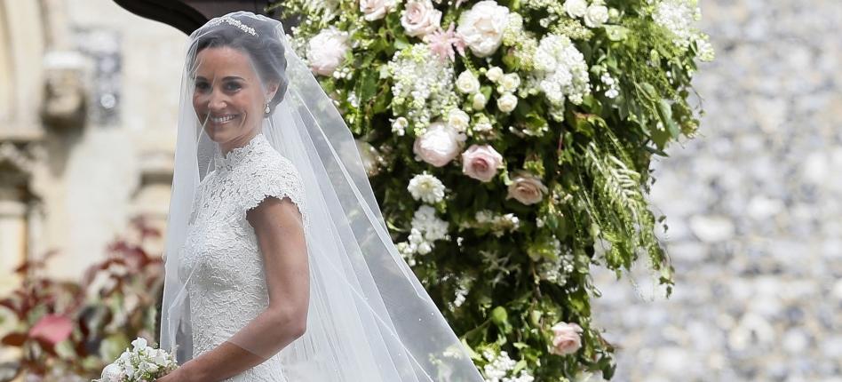 Vestido de casamento de Pippa Middleton custou R$ 170 mil